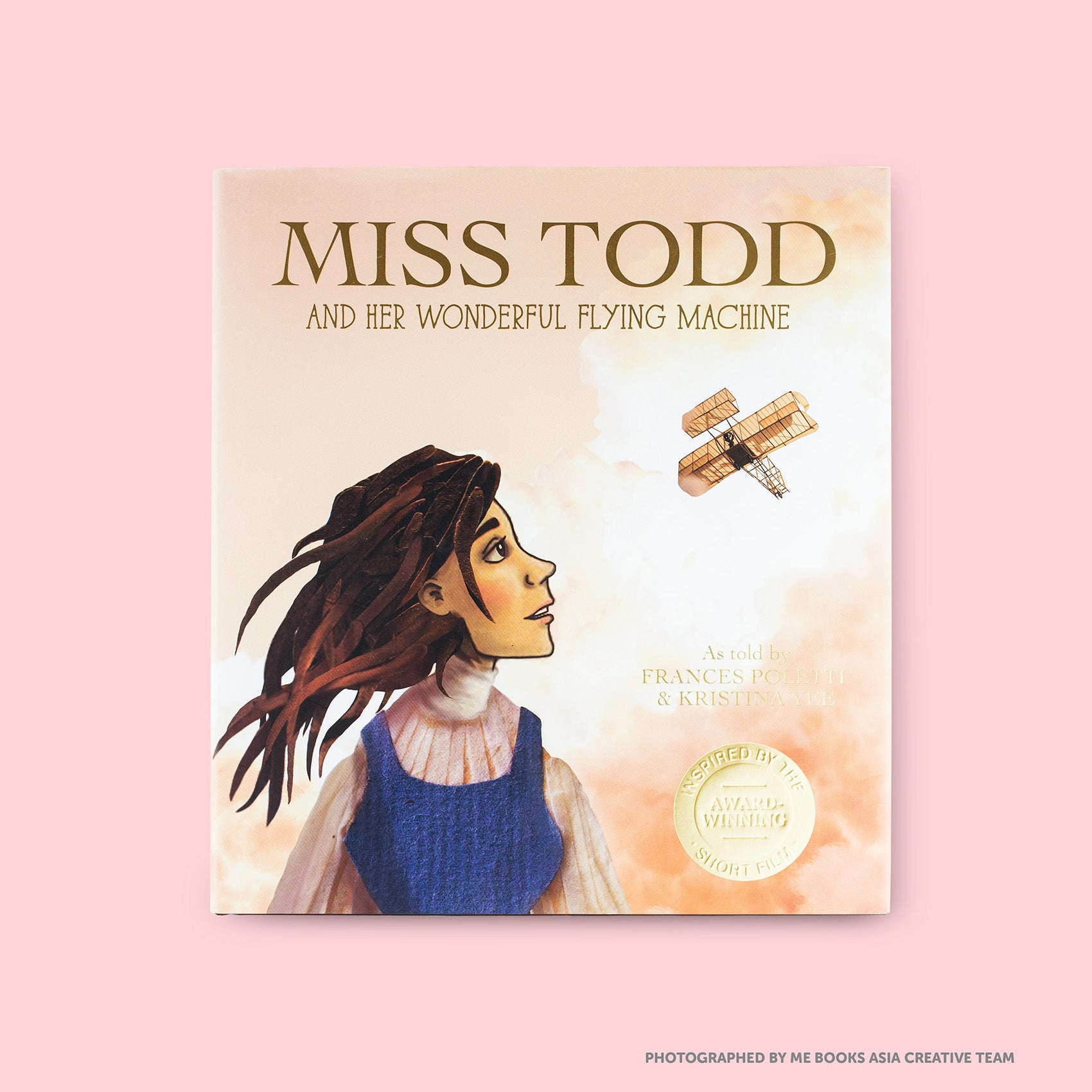 Miss Todd and Her Wonderful Flying Machine Front Cover| Me Books Store