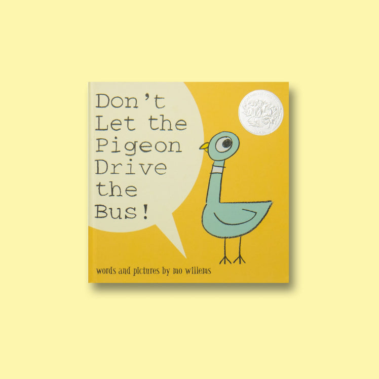 Don't Let the Pigeon Drive the Bus! - Me Books Asia Store