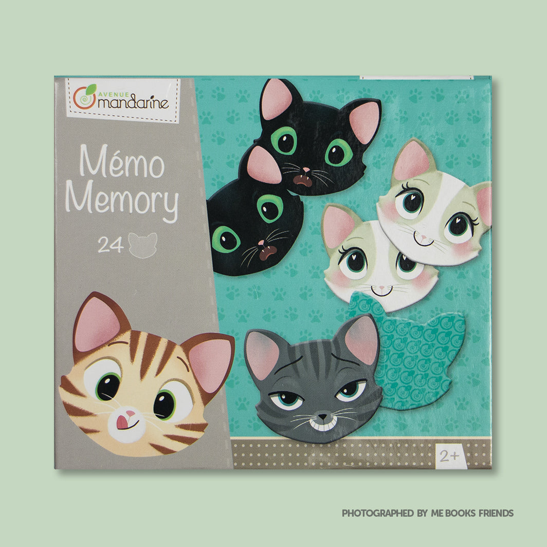 Avenue Mandarine Memory - Cats and Expressions - Me Books Store