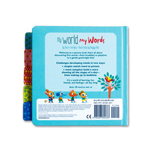 My World My Words: A Toddler's First Words - Me Books Asia Store