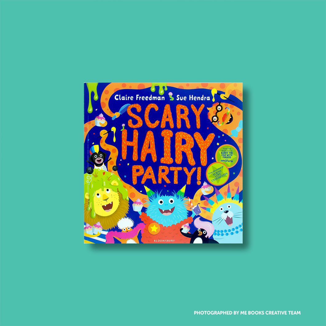 Scary Hairy Party - Me Books Asia Store