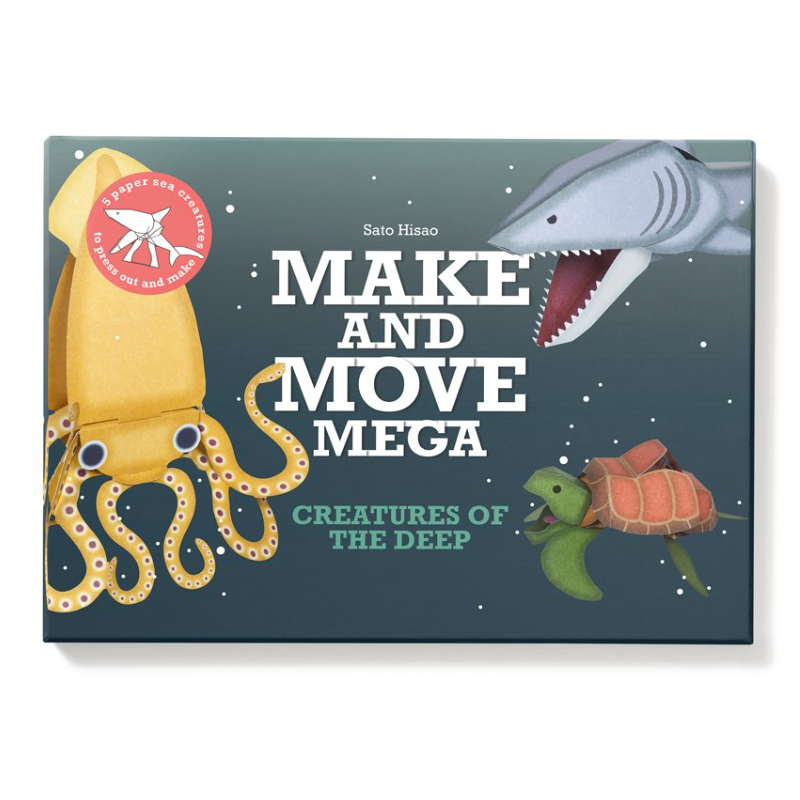 Make and Move Mega: Creatures of the Deep - Me Books Asia Store