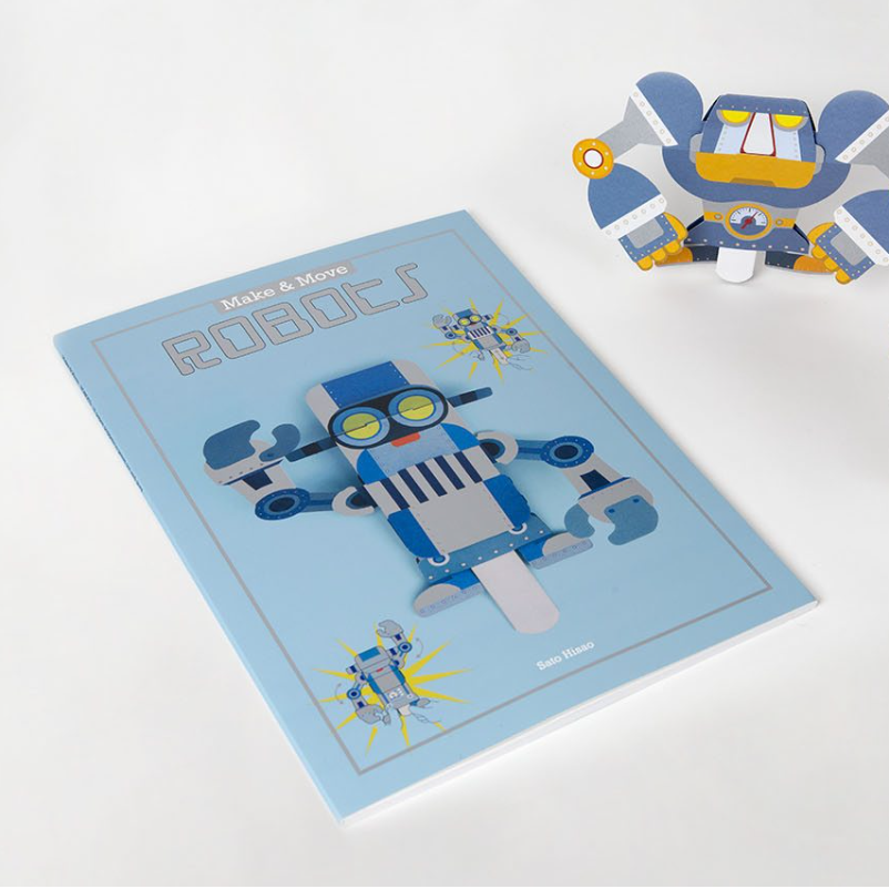Make and Move: Robots - Me Books Asia Store