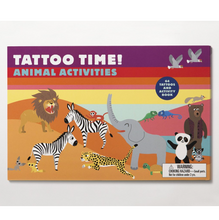 Tattoo Time! Animal Activities - Me Books Asia Store