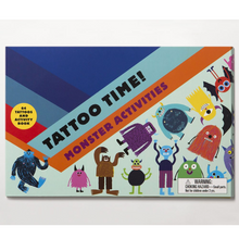 Tattoo Time! Monster Activities - Me Books Asia Store
