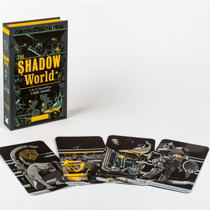 The Shadow World: A Sci-Fi Storytelling Card Game - Me Books Asia Store