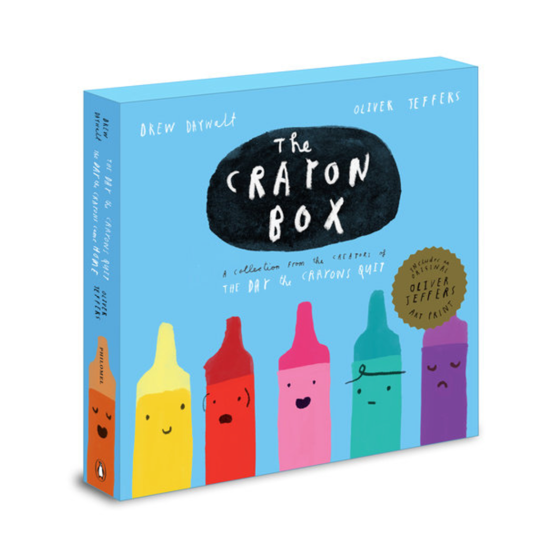 The Crayon Box: The Day the Crayons Quit Slipcased edition - Me Books Asia Store