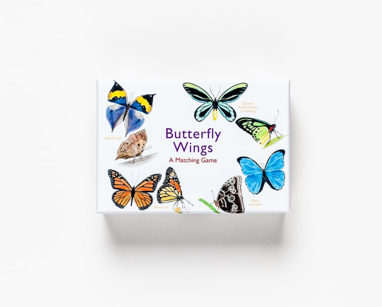 Butterfly Wings: A Matching Game - Me Books Asia Store