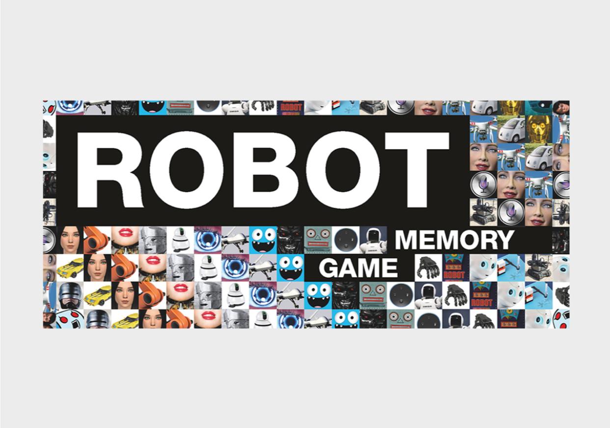 Robot Memory Game - Me Books Asia Store