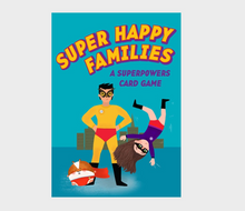 Super Happy Families:A Superpowers Card Game - Me Books Asia Store