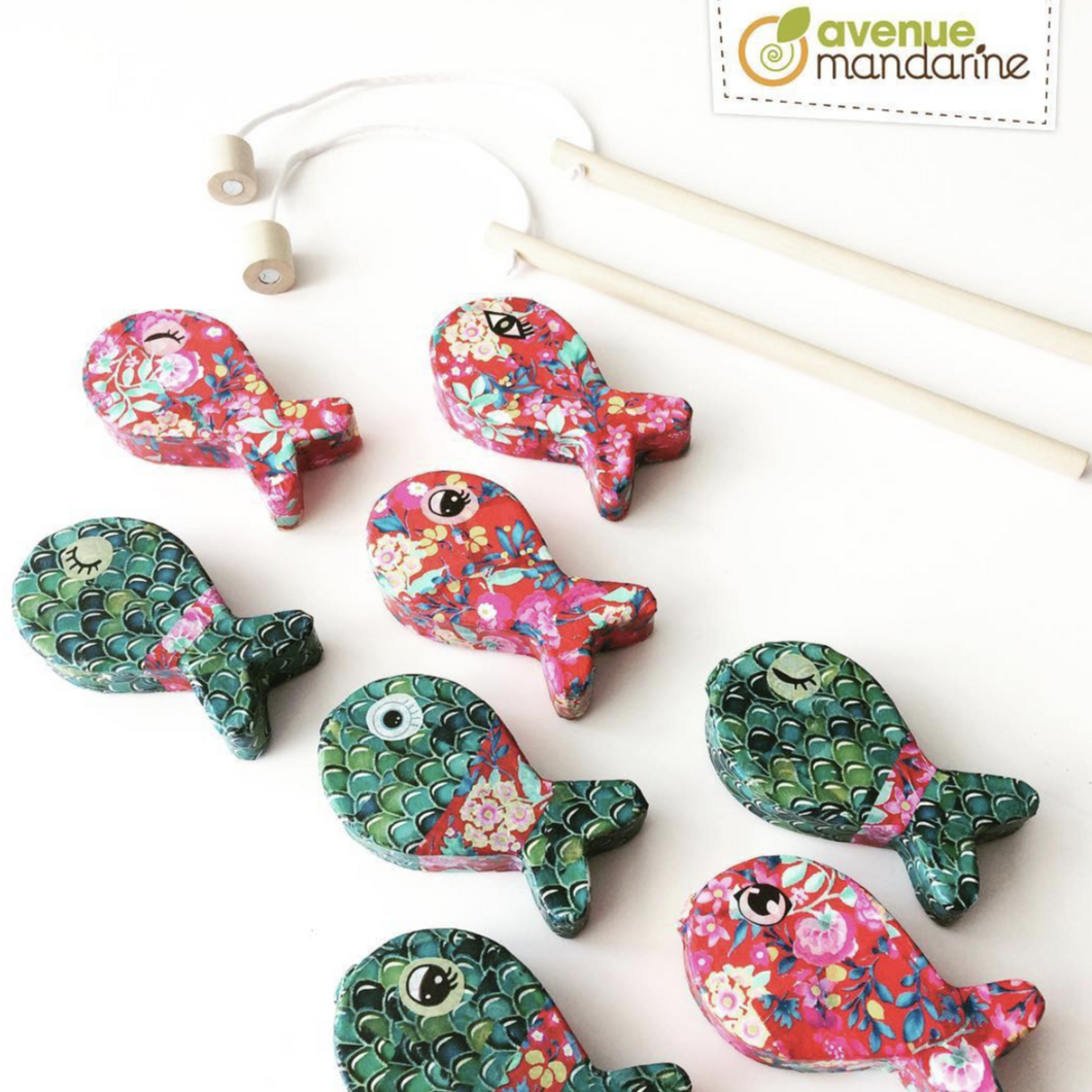 Avenue Mandarine Creative Box decopatch Fishing - Me Books Asia Store