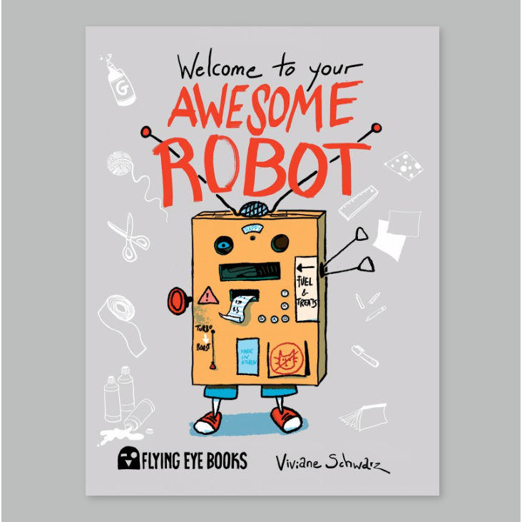 Welcome to Your Awesome Robot - Me Books Asia Store