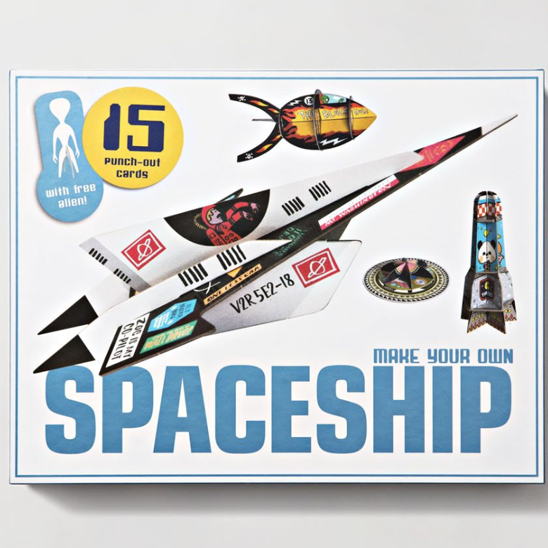 MAKE YOUR OWN SPACESHIP - Me Books Asia Store