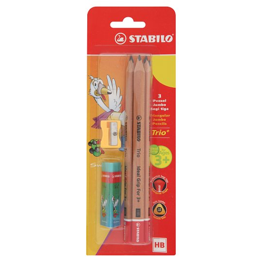 Stabilo Trio Jumbo Pencils Blister 3s+4562+1199 - Me Books Store