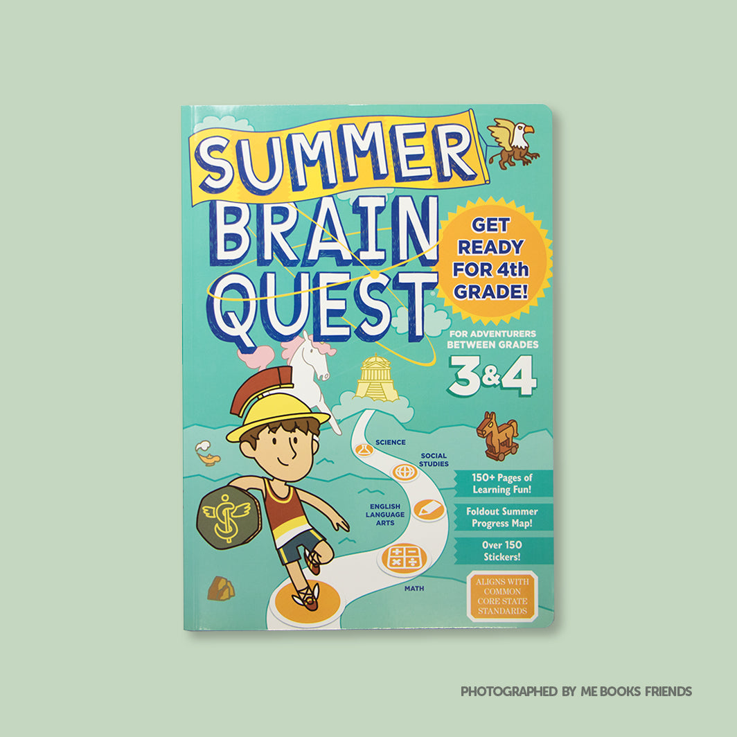 Summer Brain Quest: Between Grades 3 & 4 - Me Books Store