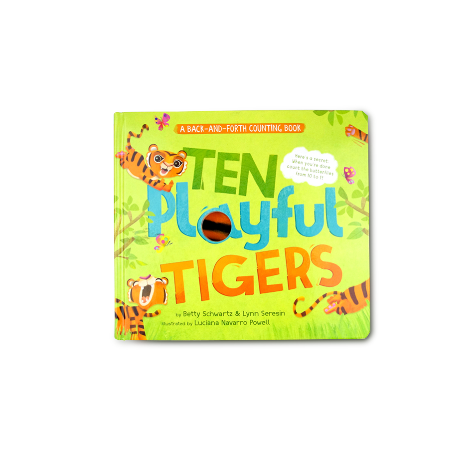 Ten Playful Tigers: A Back-and-Forth Counting Book - Me Books Asia Store
