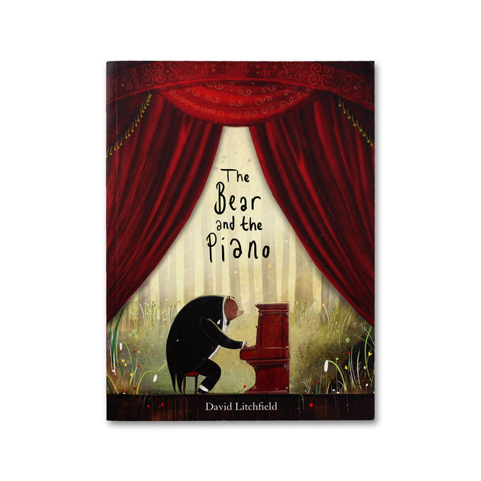 The Bear and the Piano - Me Books Asia Store