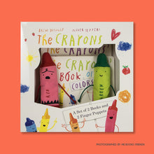 The Crayons: A Set of Books and Finger Puppets - Me Books Store