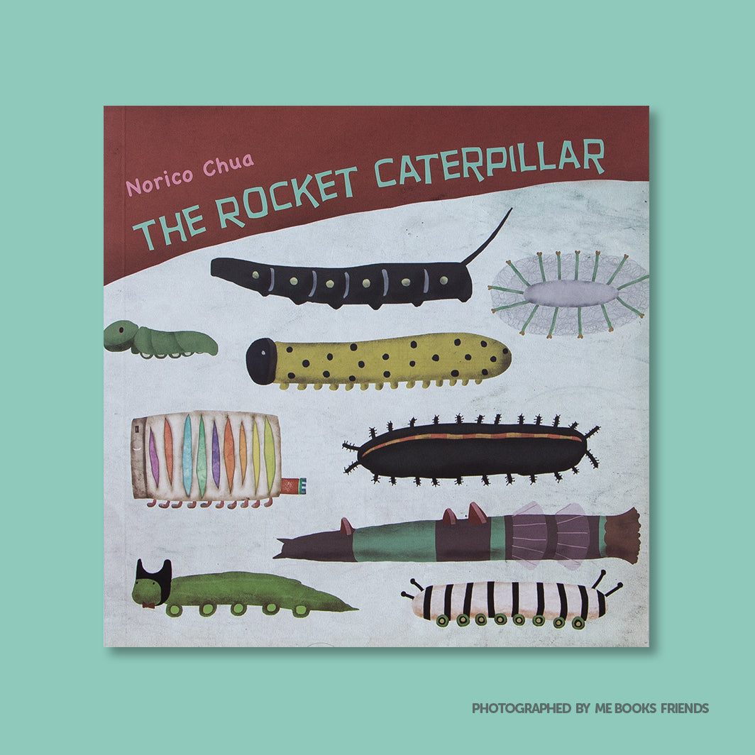The Rocket Caterpillar - Me Books Store