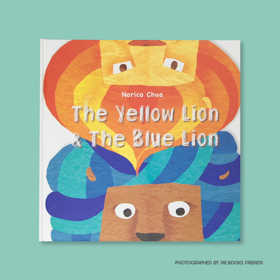 The Yellow Lion & The Blue Lion - Me Books Store