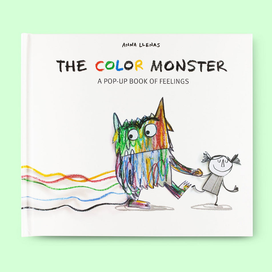 The Color Monster: A Pop-Up Book of Feelings Front Cover | Me Books Store