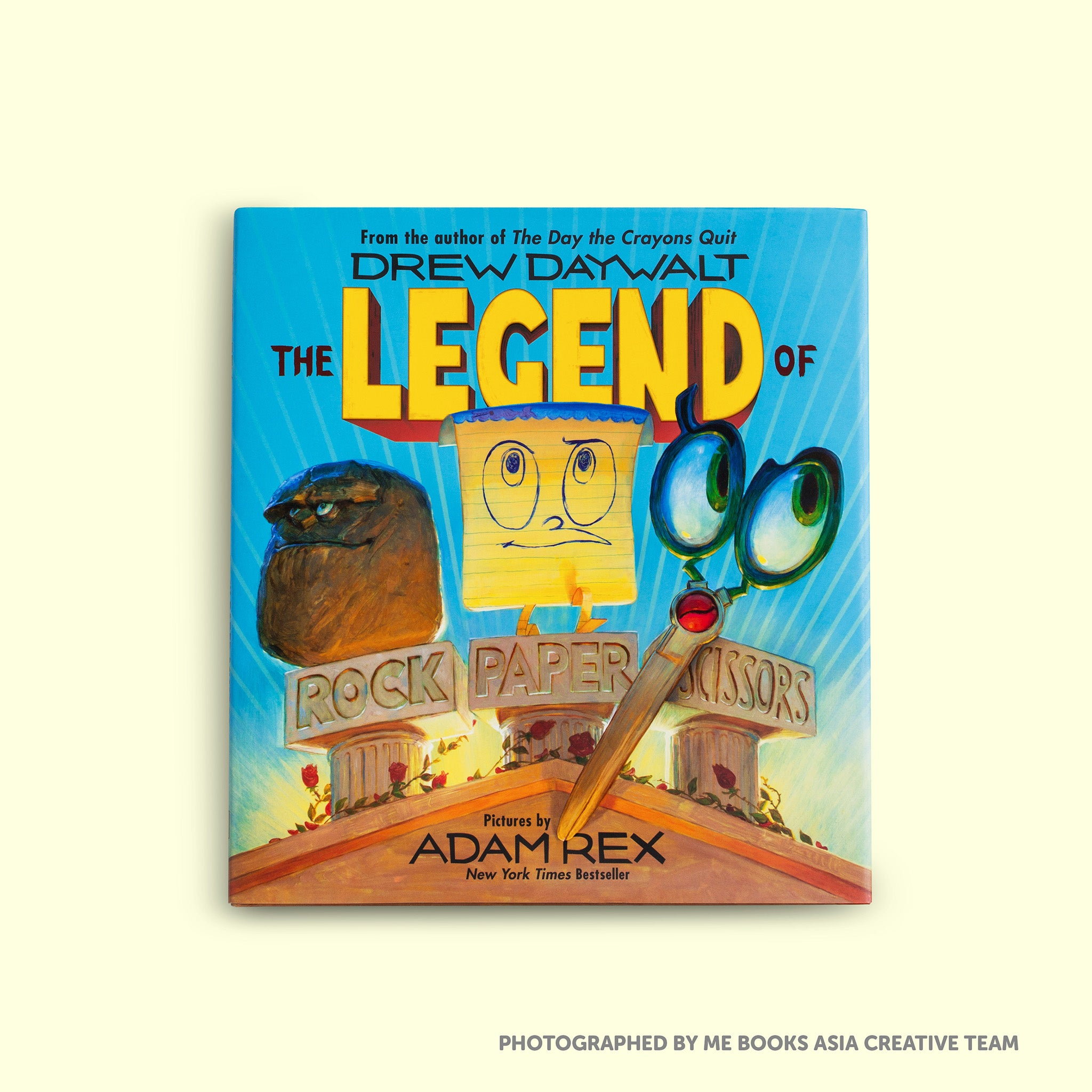 The Legend of Rock Paper Scissors - Me Books Asia Store