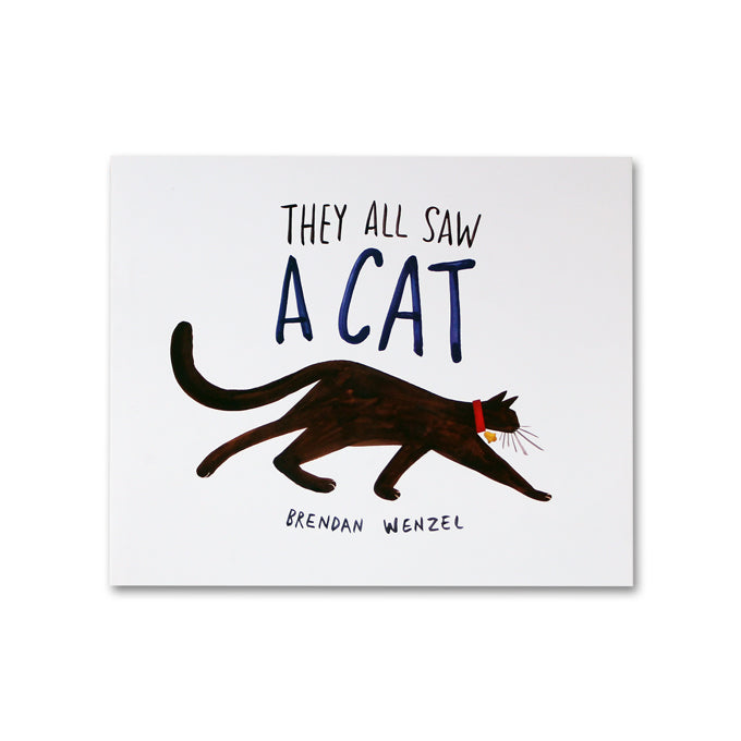 They all saw a cat - 9781452150130 - Me Books Asia Store