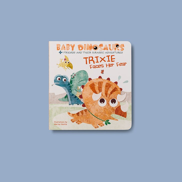 Children's Books - (Baby Dinosaurs : Trixie Faces Her Fear) - Me Books Store