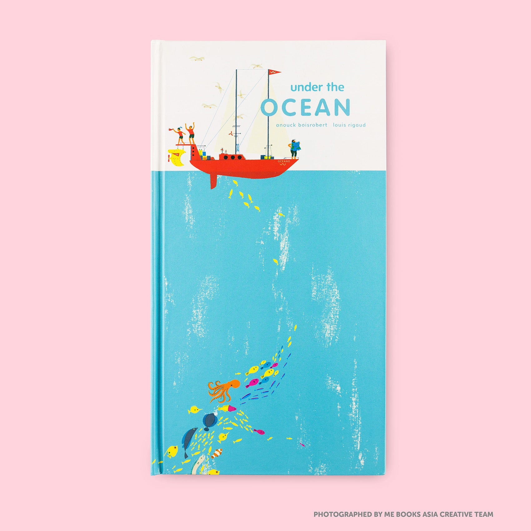 Under the Ocean Front Cover | Me Books Store