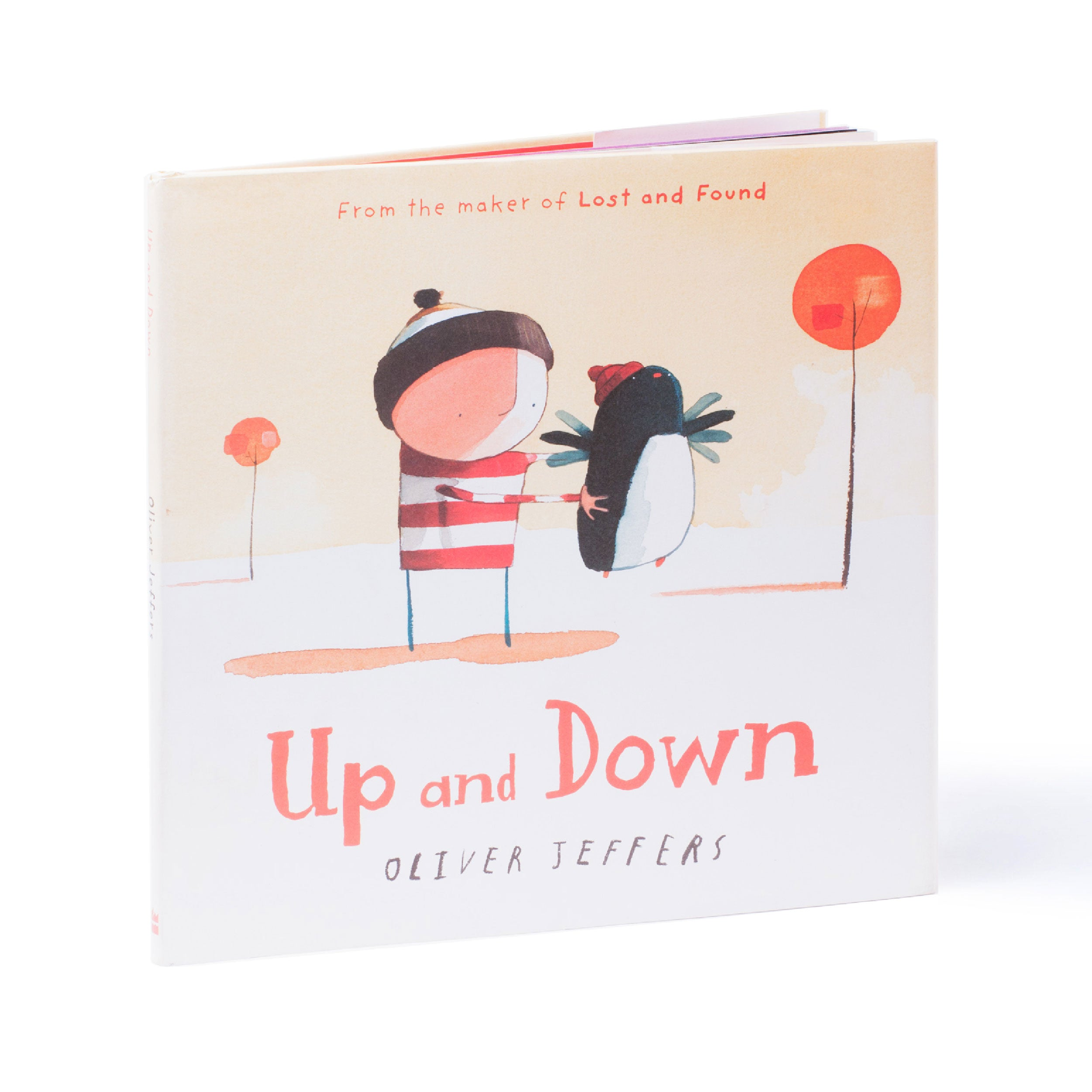 Up and Down by Oliver Jeffers | Me Books Store