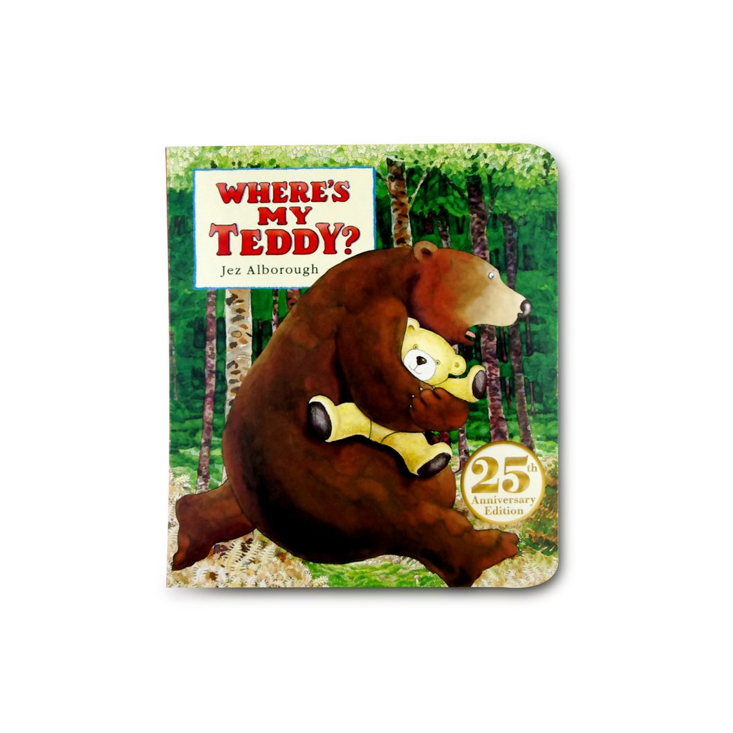 Where's My Teddy?: 25th Anniversary Edition - Me Books Asia Store