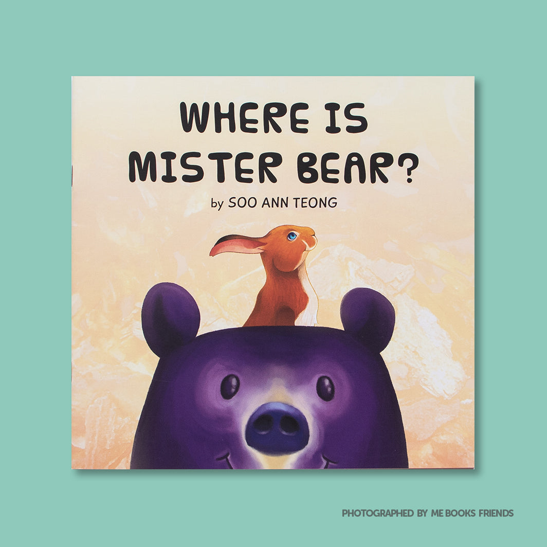 Where Is Mister Bear? -  Me Books Store