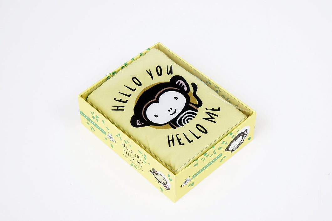 Hello You, Hello Me: A Soft Daytime Book With Mirrors (Wee Gallery) by Surya Sajnani - Me Books Asia Store