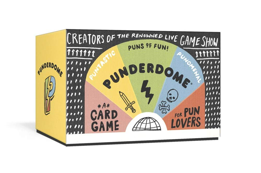 Punderdome : A Card Game for Pun Lovers by Fred Firestone and Jo Firestone - Me Books Asia Store