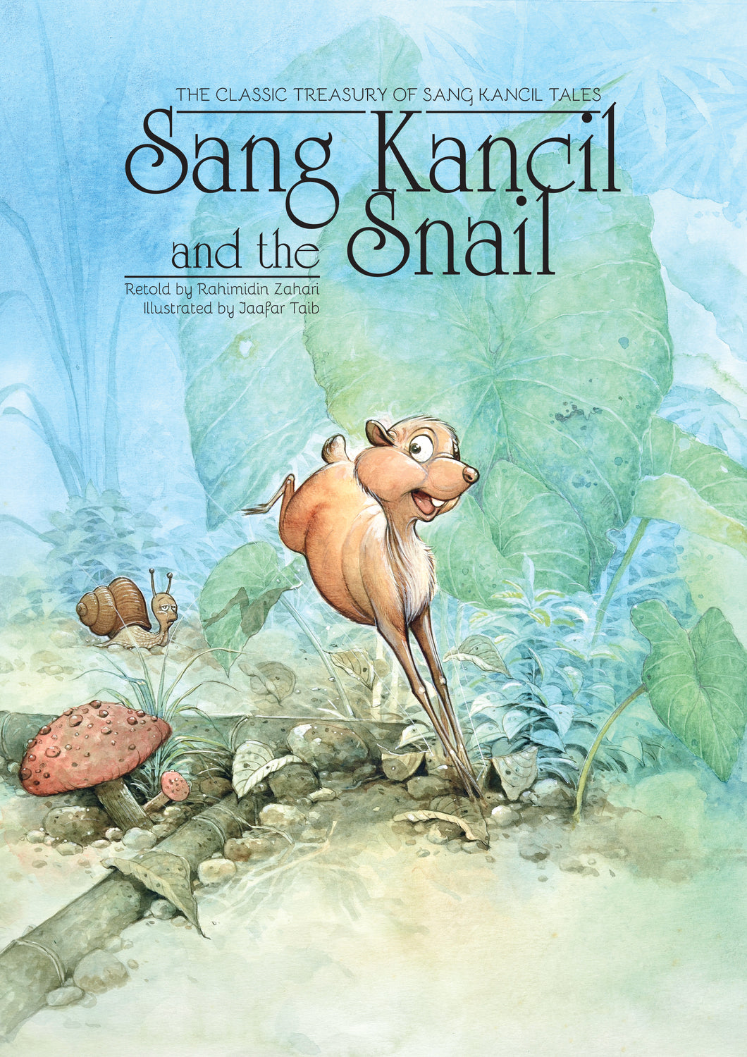 Sang Kancil and the Snail - Me Books Store