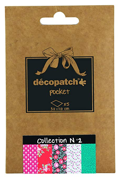 Decopatch Papers: Deco Pocket 5s 30X40CM No.2 - Me Books Asia Store