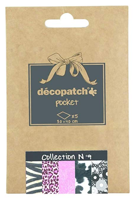 Decopatch Papers: Deco Pocket 5s 30X40CM No.9 - Me Books Asia Store