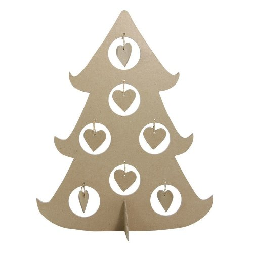 Décopatch Objects:Christmas-Bulle Christmas Tree - Me Books Store
