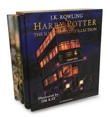 Harry Potter – The Illustrated Collection: Three magical classics - Me Books Asia Store