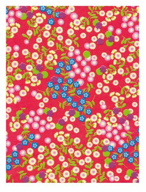 Decopatch Paper:Red 383 Multi Flowers - Me Books Asia Store