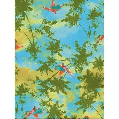 Decopatch Paper:Blue 693 Travel:Palm Trees - Me Books Asia Store