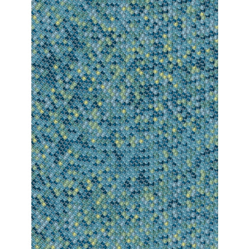 Decopatch Paper:Blue 729 Fish Scales-Blue Green - Me Books Asia Store