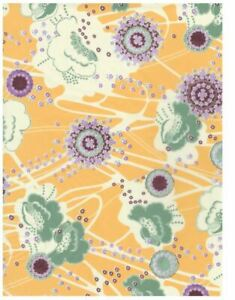 Decopatch Paper:Yellow & Orange 708 Florals - Me Books Asia Store