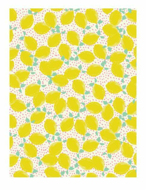 Decopatch Paper:Yellow & Orange 745 Lemons - Me Books Asia Store