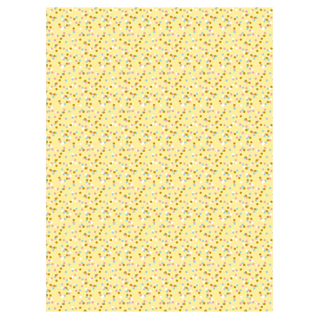 Decopatch Paper:Yellow & Orange 746 Dots - Me Books Asia Store