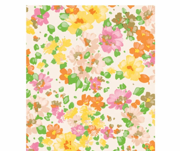 Decopatch Paper:Yellow & Orange 776 Spring Flowers - Me Books Asia Store