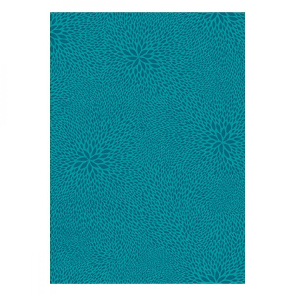 Decopatch Paper:Colors Burst 651 Leaf Mosaic-Teal - Me Books Asia Store