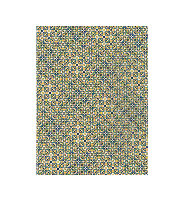 Decopatch Paper:Gold 706 Arabic Mosaic-Brown - Me Books Asia Store
