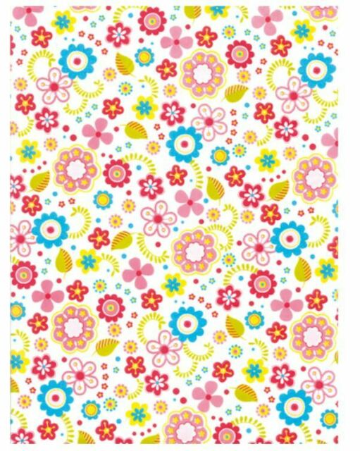 Decopatch Paper:Green 433 Multi Flowers - Me Books Asia Store