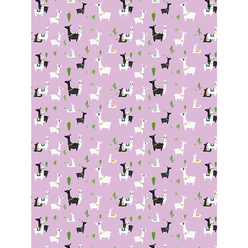 Decopatch Paper:Pink 768 Llamas-Black & White - Me Books Asia Store